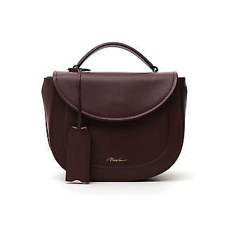 3.1 Phillip Lim B481mccbo501 Women's Burgundy Leather Shoulder Bag