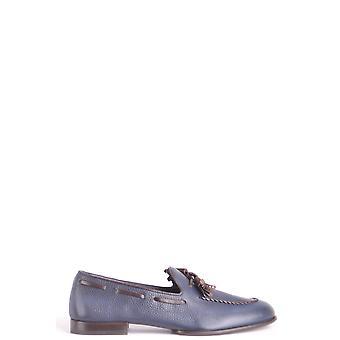 Fratelli Rossetti Ezbc052009 Men's Blue Leather Loafers