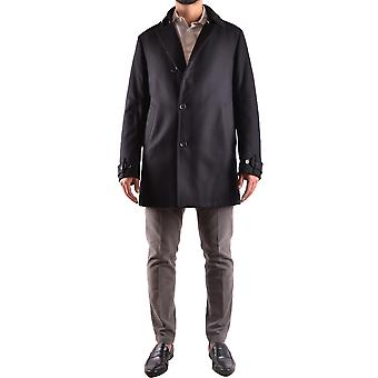 Allegri Ezbc097006 Men's Black Wool Coat