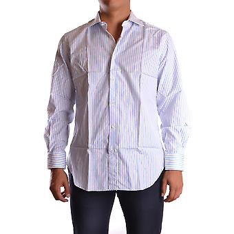 Ermanno Scervino Ezbc108007 Men's White Cotton Shirt