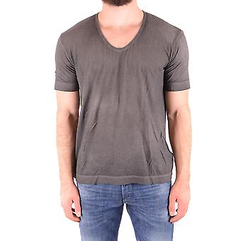 Diesel Black Gold Ezbc065035 Men's Grey Cotton T-shirt