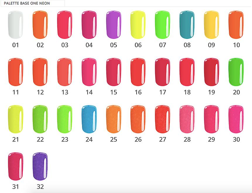 Base One-Neon-Candy rosa 5G UV gel
