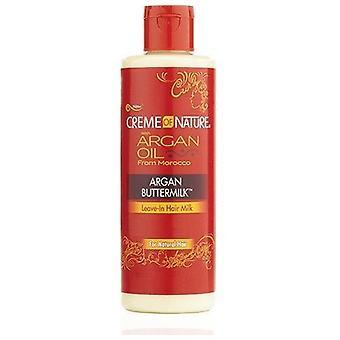 Creme of Nature Argan Buttermilk Leave-In Hair Milk 8oz