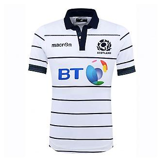 2016-2017 Scotland Alternate Authentic Pro Body Fit Rugby Shirt