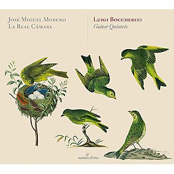 Boccherini / Moreno / La Real Camara - Guitar Quintets [CD] USA import