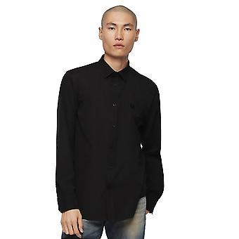 Diesel S-Gesetz-Shirt-schwarz