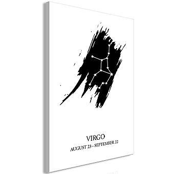 Cuadro - Zodiac Signs: Virgo (1 Part) Vertical