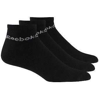 Reebok Active Core Sport Fitness Ankle Socks 3 Pack Black