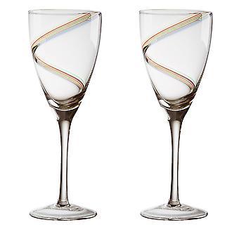 Anton Studio Arc Wine Glasses, Set of 2