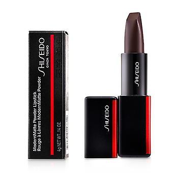 Shiseido ModernMatte pulbere ruj-# 523 Majo (ciocolata rosie) 4g/0.14 oz