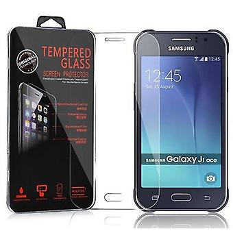 Cadorabo Tank Film for Samsung Galaxy J1 ACE (J110) - Tempered Display Protective Glass in 9H Hardness with 3D Touch Compatibility