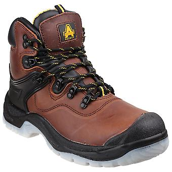 Amblers Safety Mens FS197 Schokabsorberende waterdichte kant up Safety Boot Brown