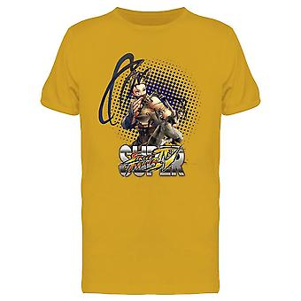 Street Fighter Ibuki tee Men ' s-Capcom designs