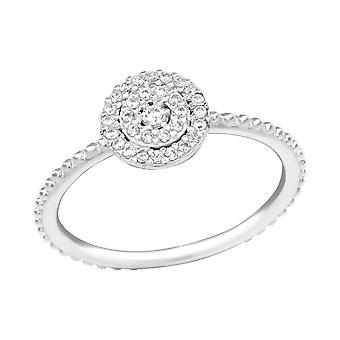 Funkelnde - 925 Sterling Silber Jewelled Ringe - W39252X
