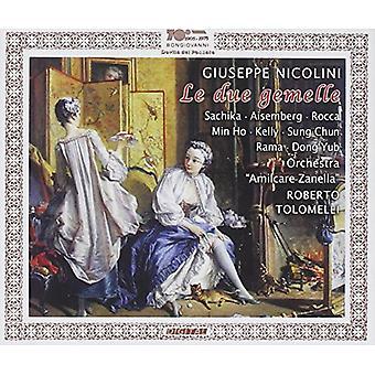 Nicolini / Sachika / Aisemberg / Ho / Kelly - Le Due Gemelle [CD] USA import