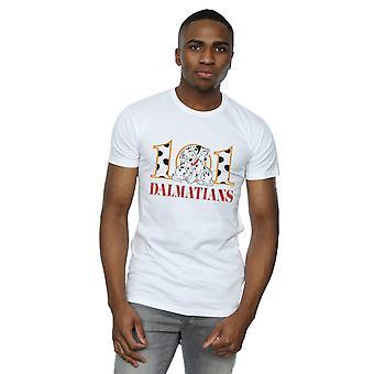 Disney Men's 101 Dalmatians Puppy Hug T-Shirt