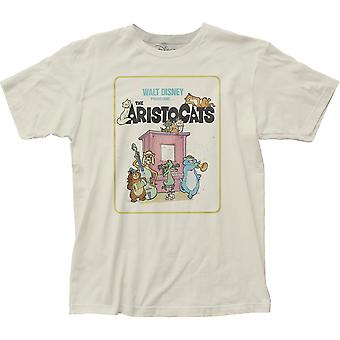 Aristocats Movie Poster Men's Off-White T-Shirt