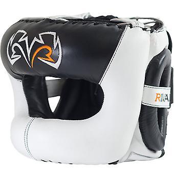 Rivale boxe Guerrero Facesaver copricapo - bianco