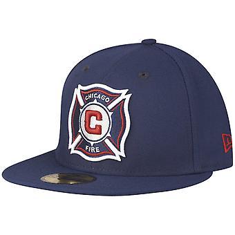 New Era 59Fifty montert cap-MLS Chicago brann marinen