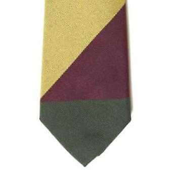 Gene Meyer Gledstone Tie - Gold/Wine/Green -