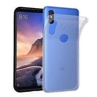 Cadorabo geval voor Xiaomi mi Max 3 gevaldekking-mobiele telefoon geval gemaakt van flexibele TPU silicone-silicone geval beschermende case ultra slanke zachte terug Cover Case bumper