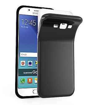 Cadorabo Case voor Samsung Galaxy A8 2015 Case cover-mobiele telefoon geval gemaakt van flexibele TPU silicone-silicone geval beschermende case ultra slanke zachte terug Cover Case bumper