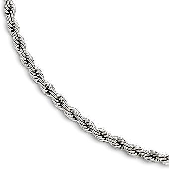 פלדת אל-חלד מלוטשים 7mm צמיד מתנות תכשיטים לנשים-אורך: 7.25 כדי 9