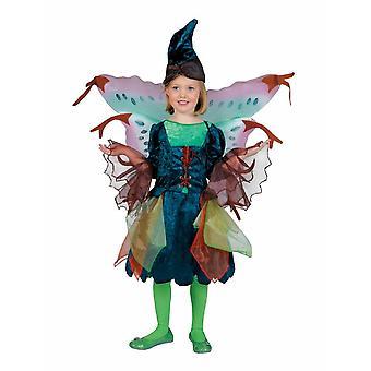 Willow Fairy Forest Fairy barnens kostym klänning flickor karneval karneval kostym barn Elf Saga