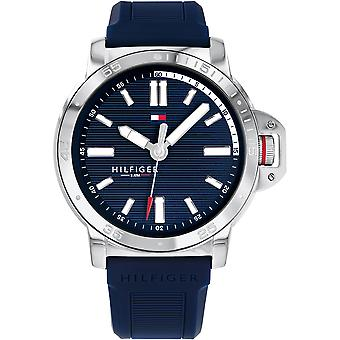 Tommy Hilfiger Diver Silicone Hommes Montre 1791588