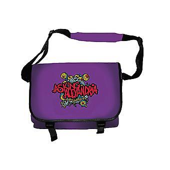 Fragen Alexandria Eyeballs Logo neue offizielle Messenger Bag