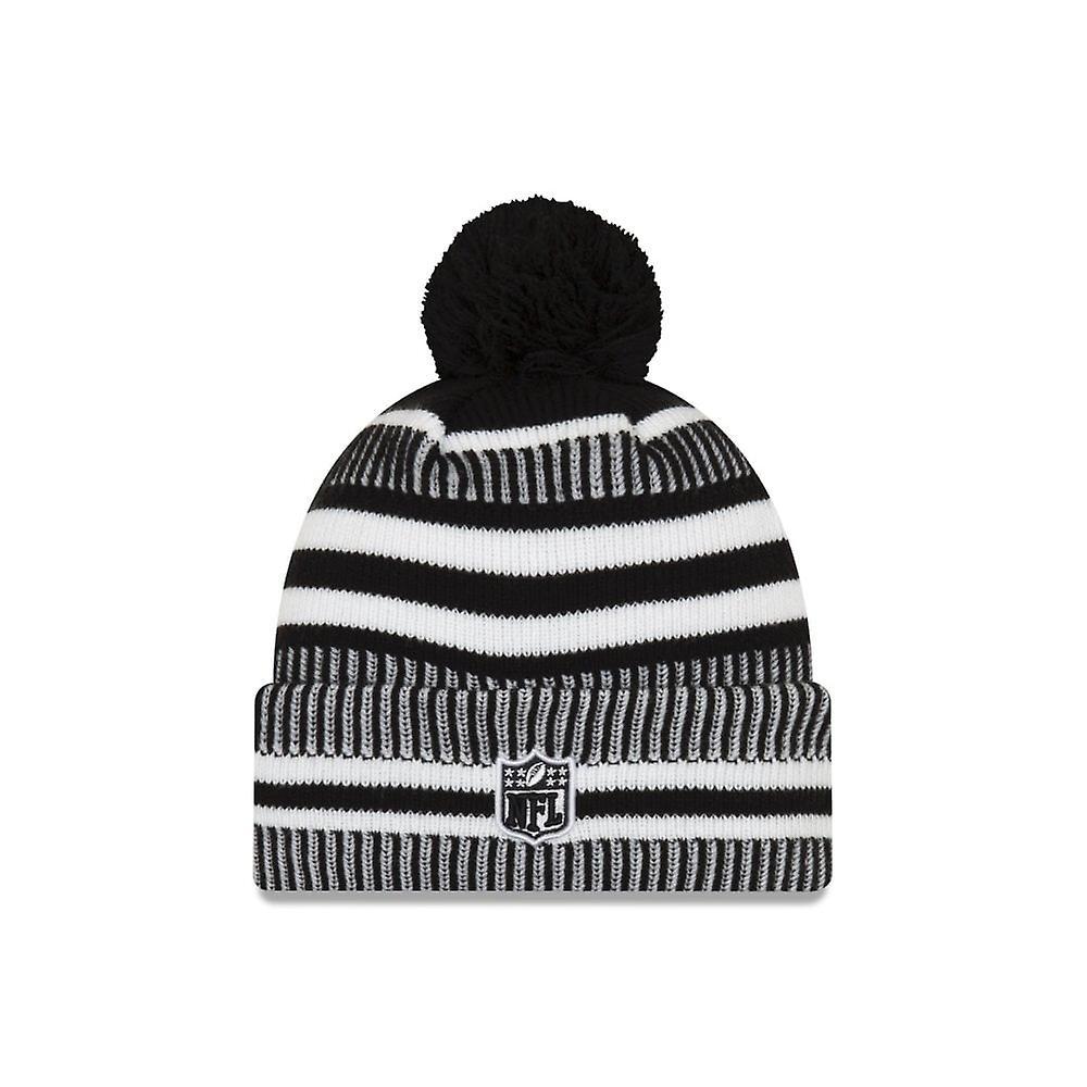 New Era Nfl Seattle Seahawks 2019 Sideline Home Black/white Sport Knit
