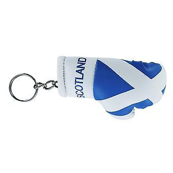 Cle Cles Key Flag Scozia Ecossai Boxing Guanto Bandiera