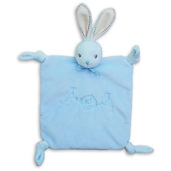 Kaloo Perle Doudou Knots Blue Rabbit 7.9