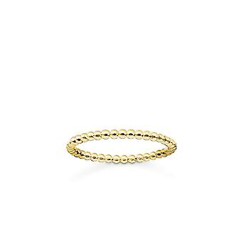 Thomas Sabo Sterling Silver Thomas Sabo Gold Dot Ring TR2122-413-12