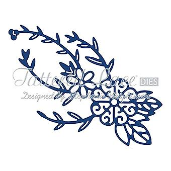 Spinning Charm Flower: Tattered Lace Metal Die Paper Card Stephanie Weightman