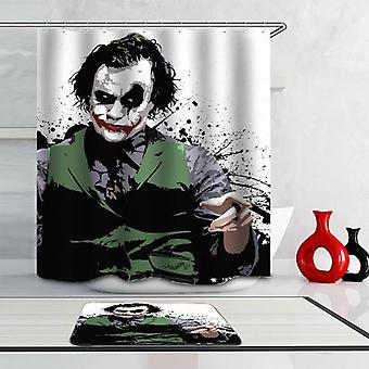 The Joker #001 Shower Curtain