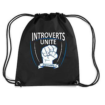 Zainetto nero trk0674 introverts