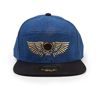 Difuzed Warhammer 40K Space Marines Snapback - Blue (SB005250WHM)