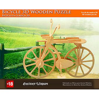 Bicycle - 3D Wooden Puzzle