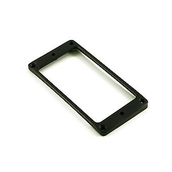 WD Music Humbucker Mounting Ring Low Black Arched (métal)
