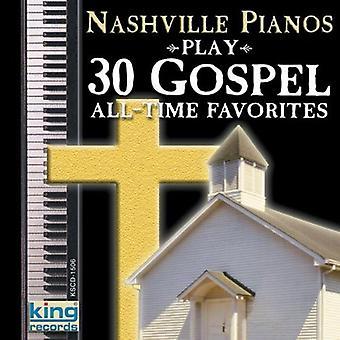 Nashville Pianos - 30 Gospel All Time Favorites [CD] USA import