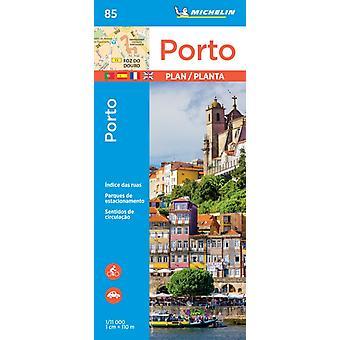 Porto  Michelin City Plan 85