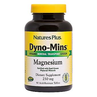 Nature's Plus Dyno-Mins Magnesium 250mg Tabs 90 (36661)