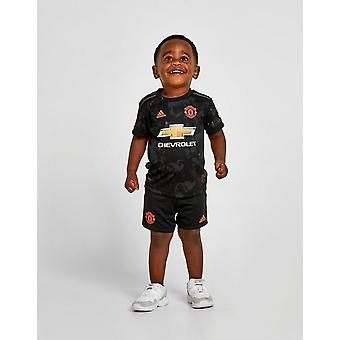 New adidas Infant Manchester United FC 2019/20 Third Kit Black