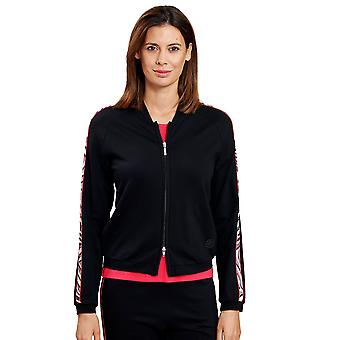 Féraud 3205038-10995 Women's Black Loungewear Jacket Top