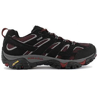 Merrell Moab 2 GTX J49005 Scarpe da trekking da uomo Nero Sneaker Sports Scarpe