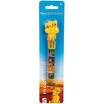 ディズニーライオンキングシンバペン10異なる色10i1