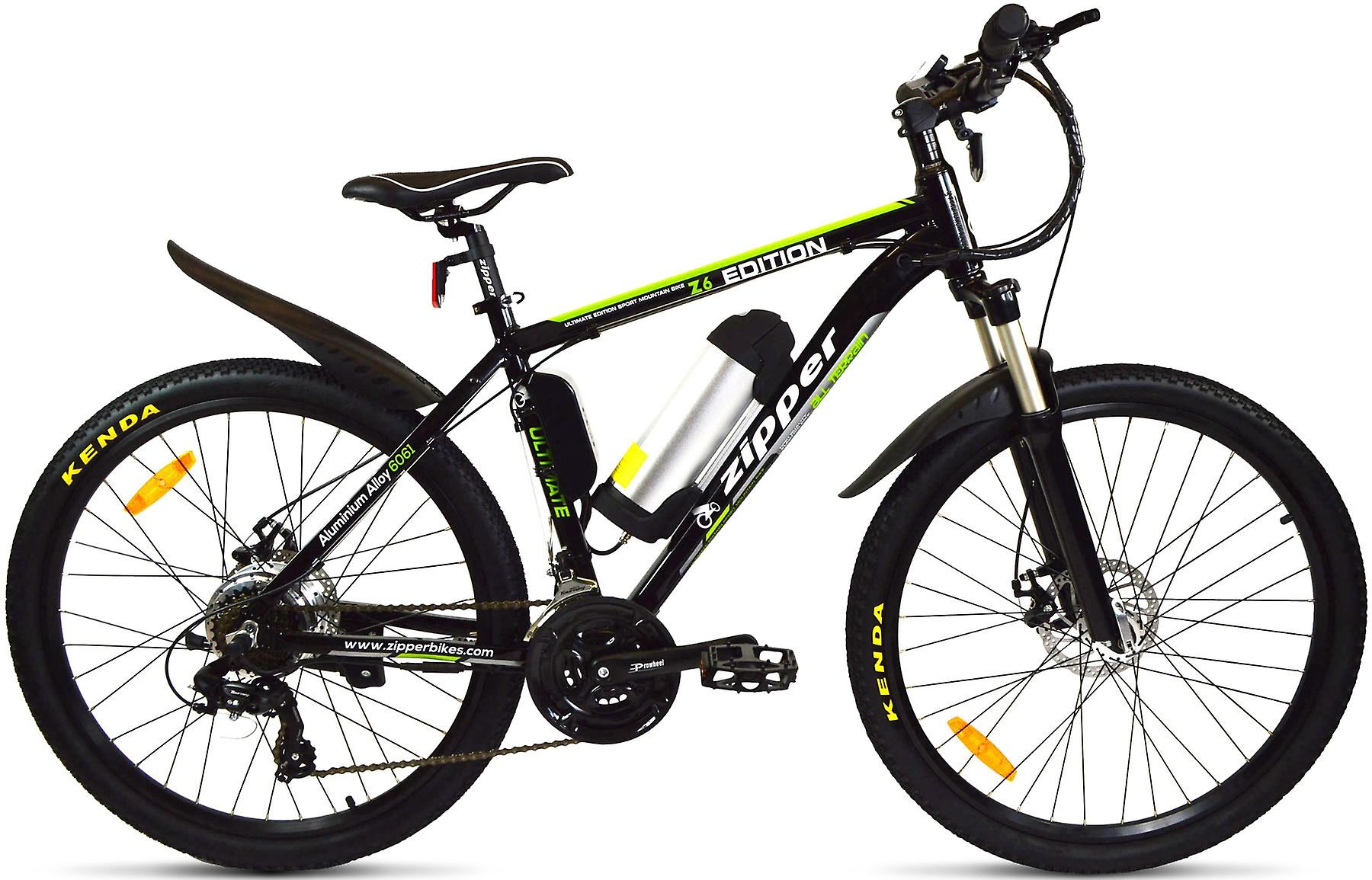 Z6 21-Speed Ultimate Edition Electric Mountain Bike 26