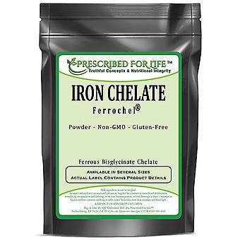 Chelate de fer - Ferrochel(R) - La forme optimale de fer (Ferrous Bisglycinate Chelate)