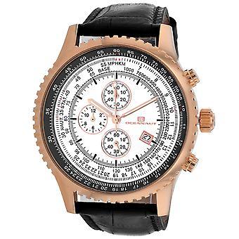 Oceanaut Men-apos;s Silver Dial Watch - OC0317